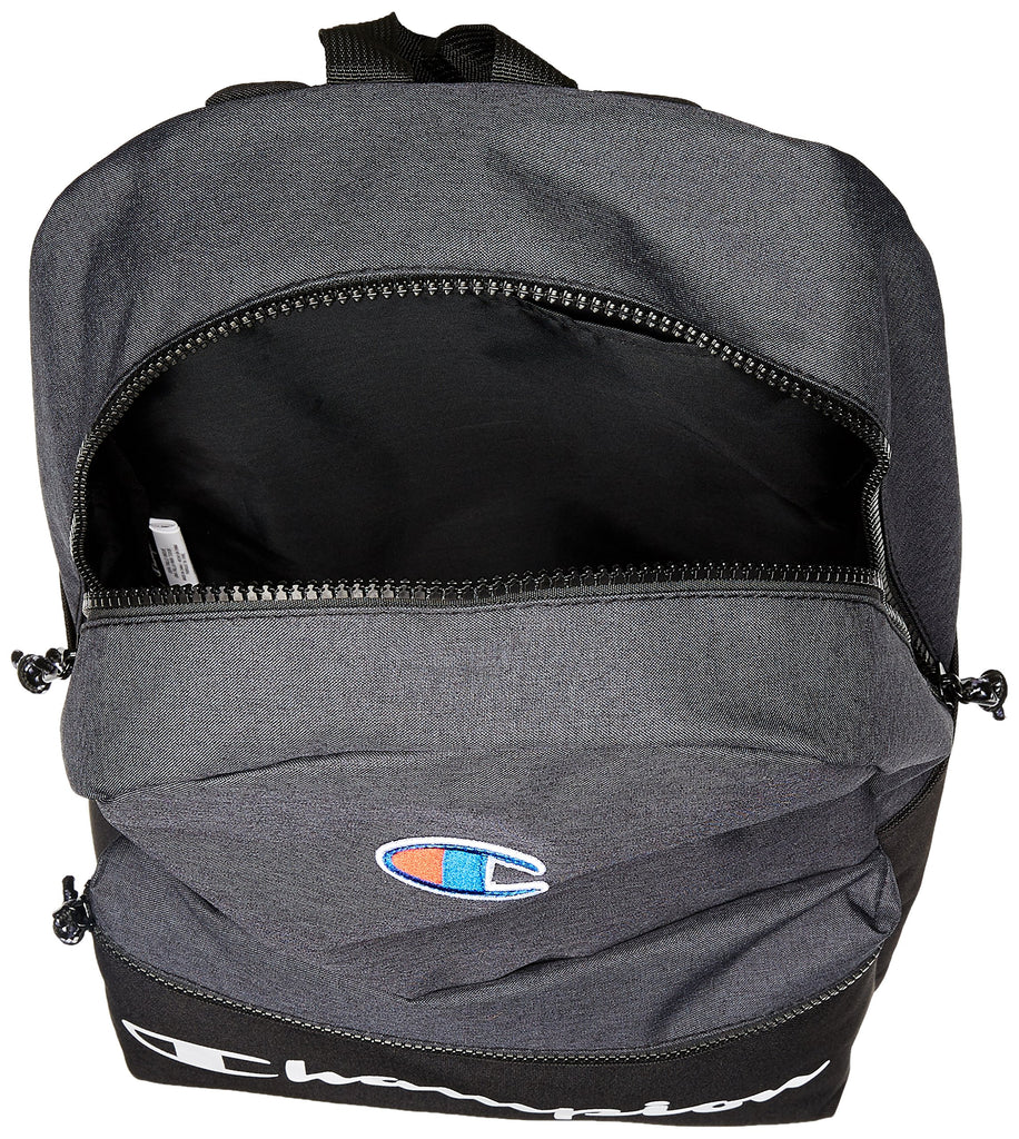 Champion Men's Manuscript Backpack, black, One size - backpacks4less.com