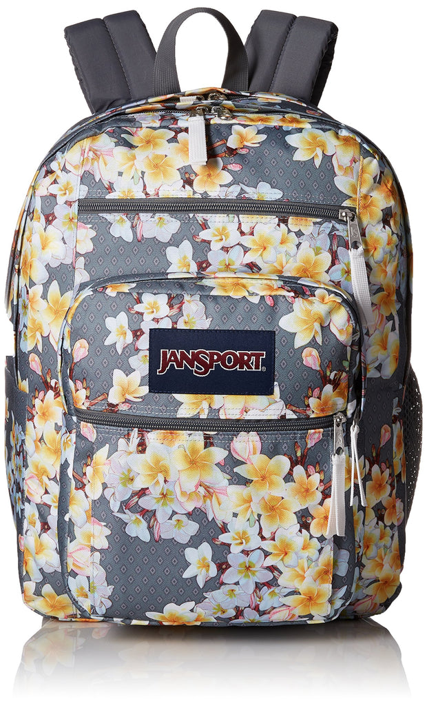 JanSport Unisex Big Student Diamond Plumeria One Size - backpacks4less.com