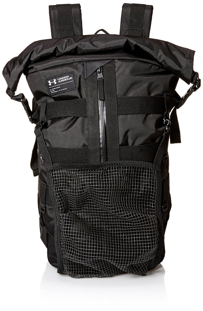 Under Armour Pursuit of Victory Gear Bag, Black (001)/Silver, One Size Fits all - backpacks4less.com