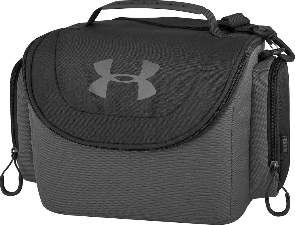 Under Armour 12 Can Soft Cooler, Graphite - backpacks4less.com