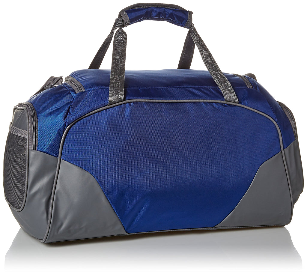 Under Armour Undeniable Duffle 3.0 Gym Bag, Royal (400)/Silver, - backpacks4less.com