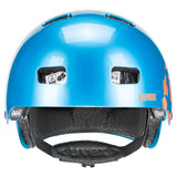 Kid 3 blue orange Fahrradhelm