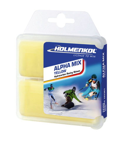 AlphaMix Yellow 2x35g Base Wax Heißwachs