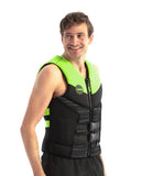 Jobe Segmented Jet Backsupport Black-Lime Green Schwimmweste