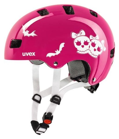 Kid 3 scary pink Fahrradhelm