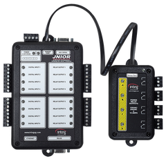 JNIOR Model 310 with Power 4 Relay Output Expansion Module