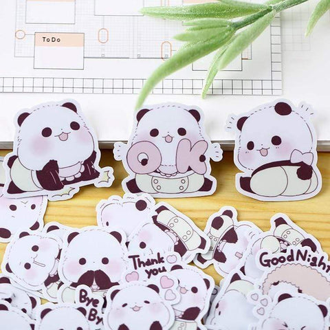 Bébé Panda Stickers