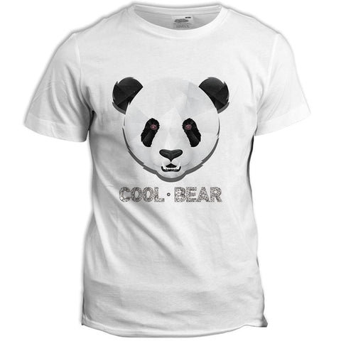 T-Shirt Panda Homme Cool Bear