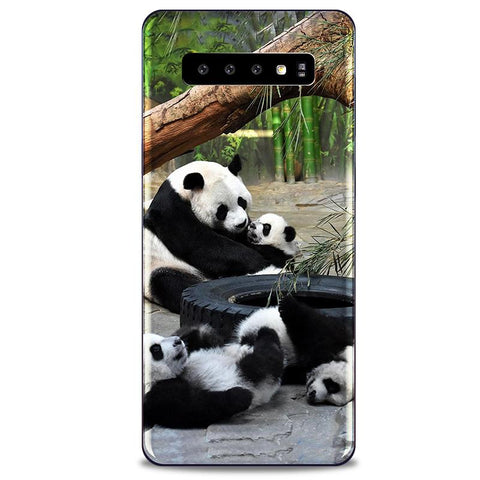 Coque Protection Samsung S10 Panda