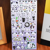 Stickers Panda Kawaii