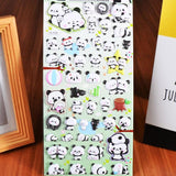 Kawaii Panda Stickers 3D