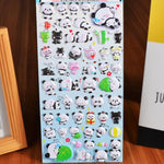Stickers Panda<br>Kawaii