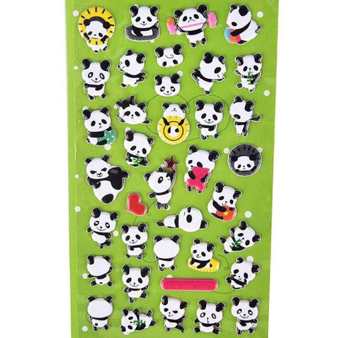 Mini Stickers Panda