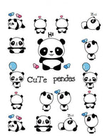 Tatouage de Panda Kawaii