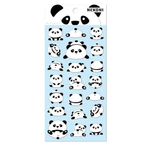 Stickers Scrapbooking Panda
