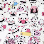 Panda Stickers Hugs