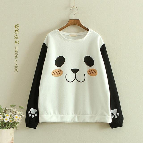 Sweat Panda <br> Fille