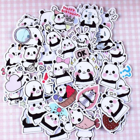 Panda Stickers Bébé