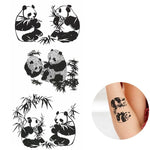 Tatouage Panda Chine