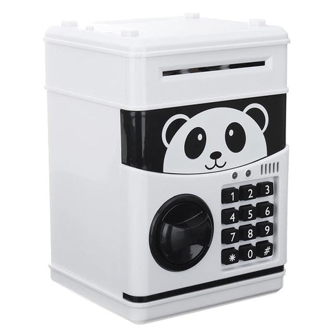 Tirelire Electronique Panda Coffre Fort