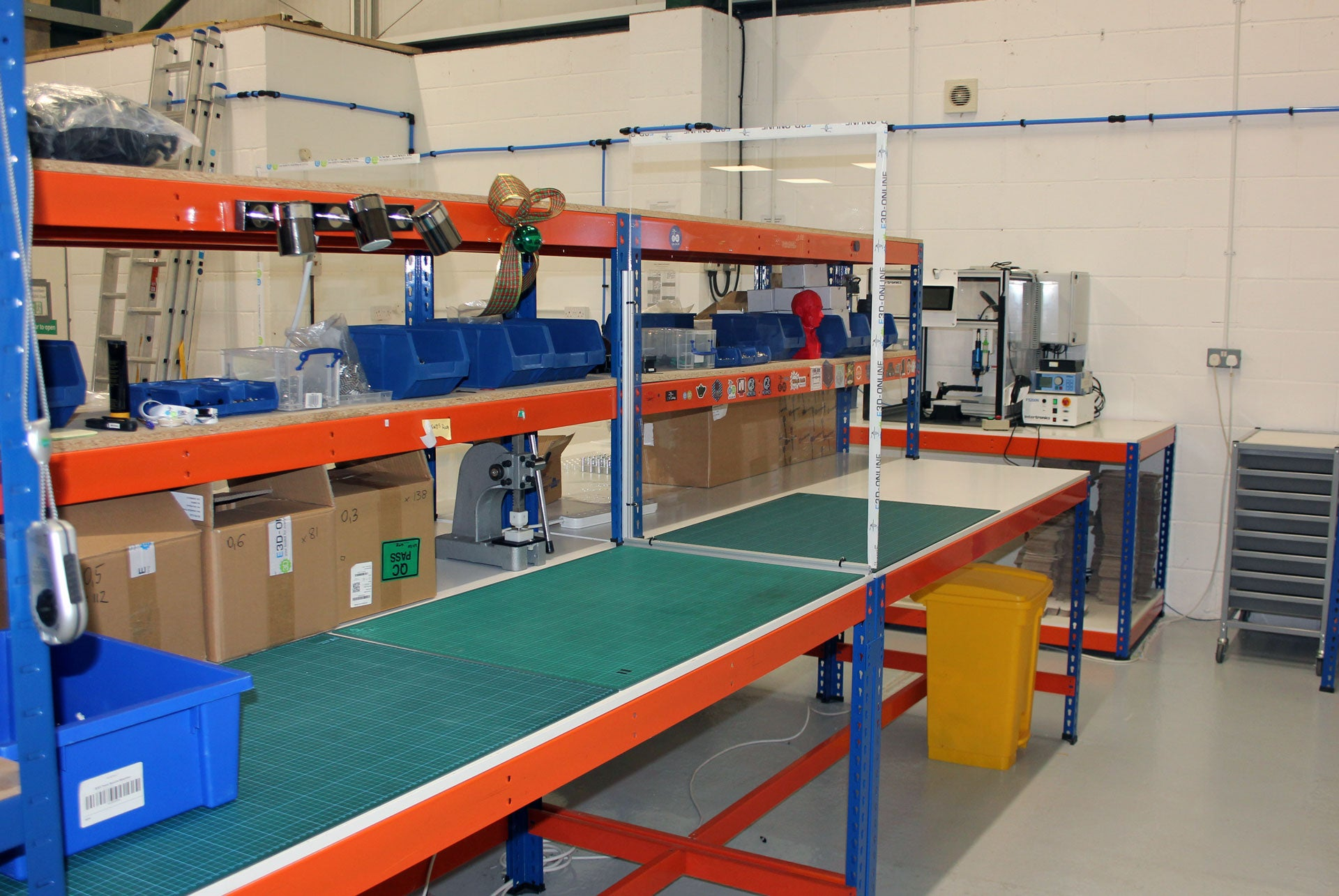manufacturing production workfloor