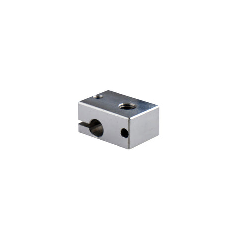 V6 Stainless Steel HeaterBlock for Sensor Cartridges