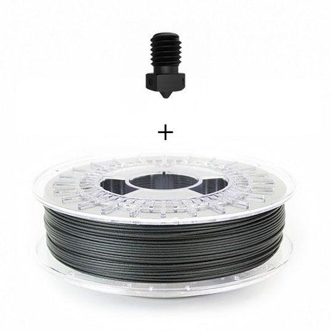 Bundle Offer: ColorFabb PA-CF Low Warp & E3D 0.4mm Hardened Steel Nozzle