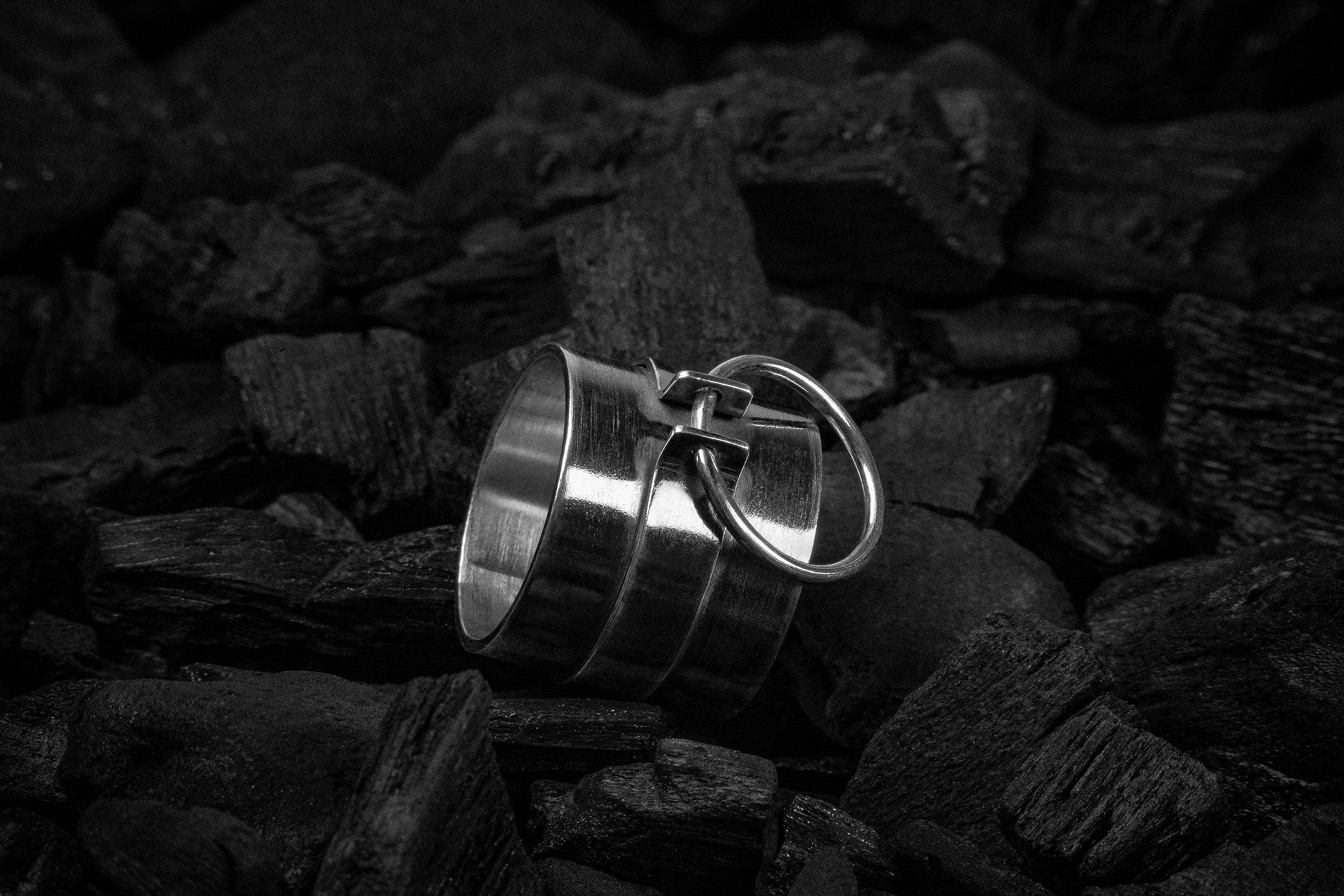 Armour Choker Ring - Natt Jewellery