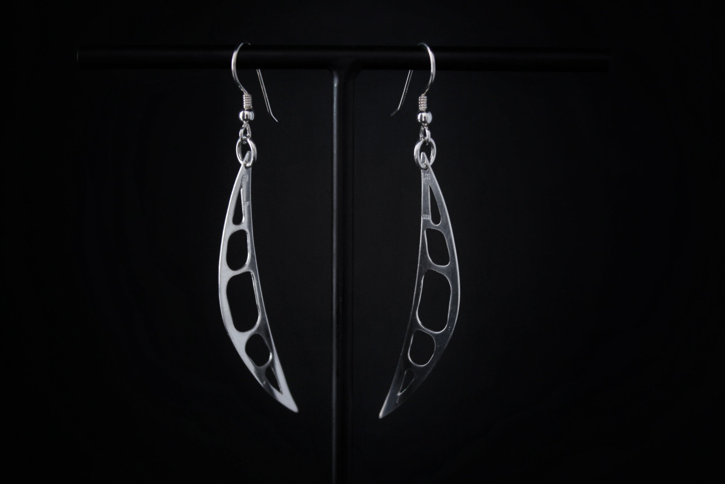 Crescent Earrings - Natt Jewellery