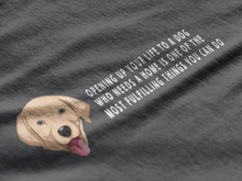 Load image into Gallery viewer, BellaC - Labrador White Detail T-shirt
