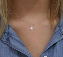 Load image into Gallery viewer, Luv 4 Mutt Charm Necklace - Feeds 10 Shelter Dogs