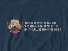 Load image into Gallery viewer, BellaC - Bulldog White Detail T-shirt