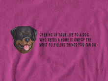 Load image into Gallery viewer, BellaC - Rottweiler Black Detail T-shirt