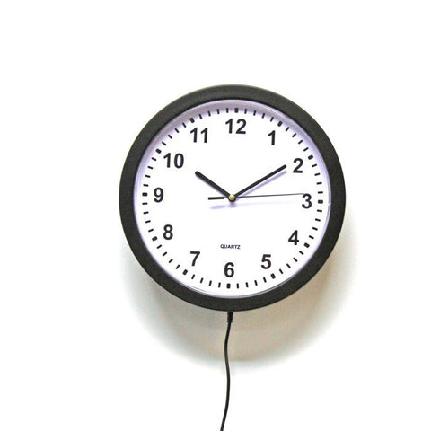 Image of SleuthGear Home Wall Clock Wi-Fi