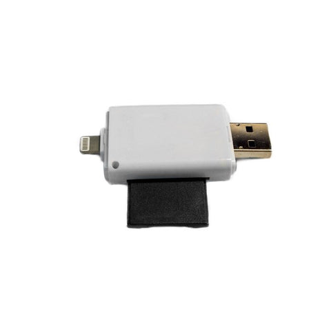 Universal Memory Card Reader With Dual Storage