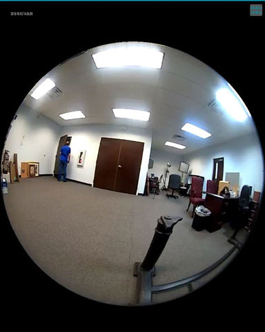 Image of 360 Degree Fisheye Wi-Fi Camera with Night Vision and Free App