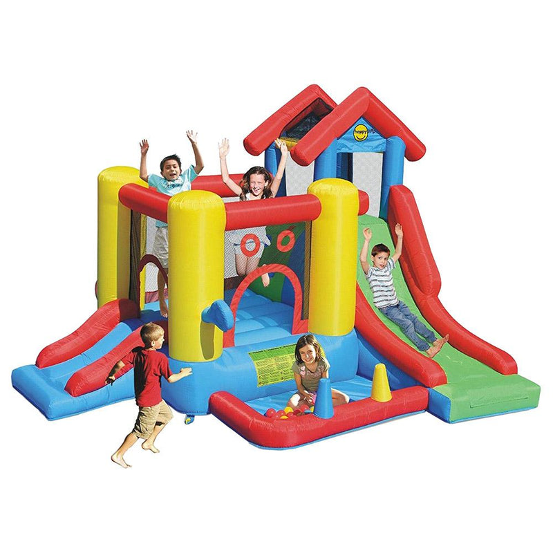 7-in-1 Playhouse Bouncy Castle