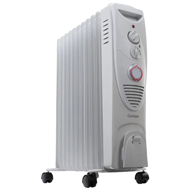 Goldair 2400W 11 Fin Oil Column Heater with Timer GSOC111T
