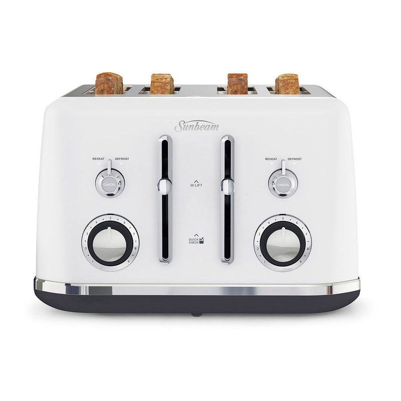 Sunbeam Alinea™ Collection 4 Slice Toaster - White