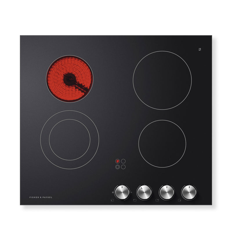 Fisher & Paykel Electric Cooktop Ceramic Glass 4 Zone