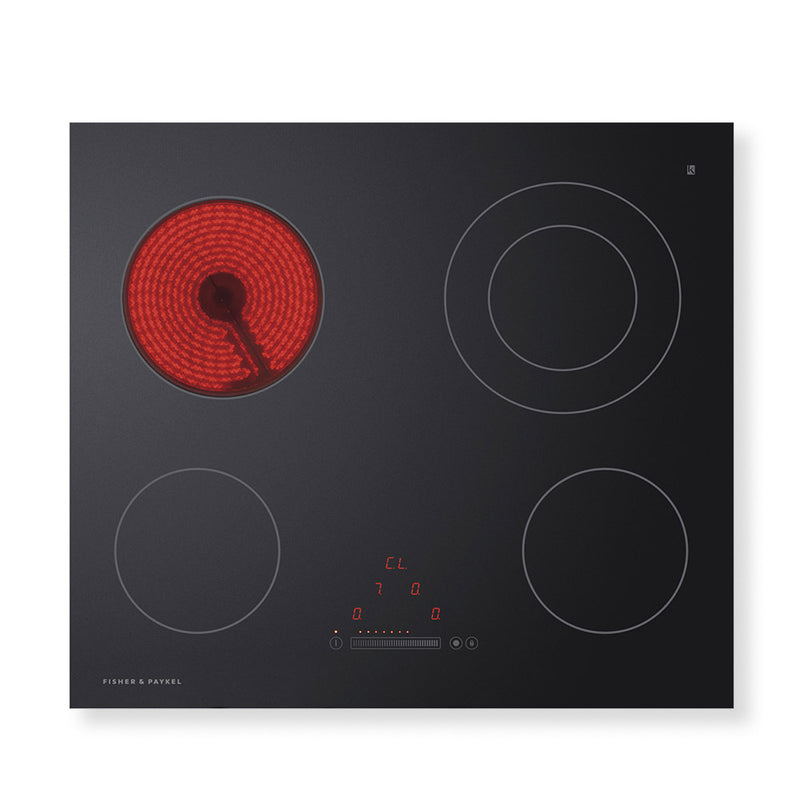 Fisher & Paykel Electric Cooktop Touch & Slide 4 Zone