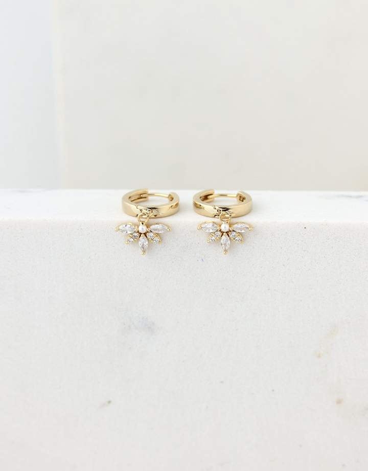 Harlowe Hoop Earrings - Gold