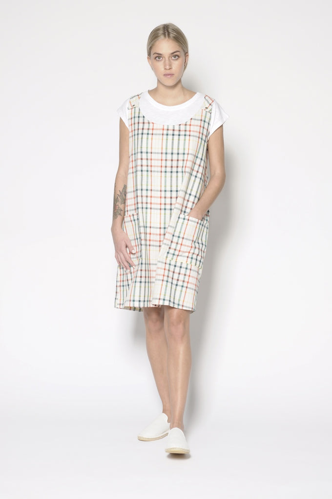 Riley Dress - Multi Check