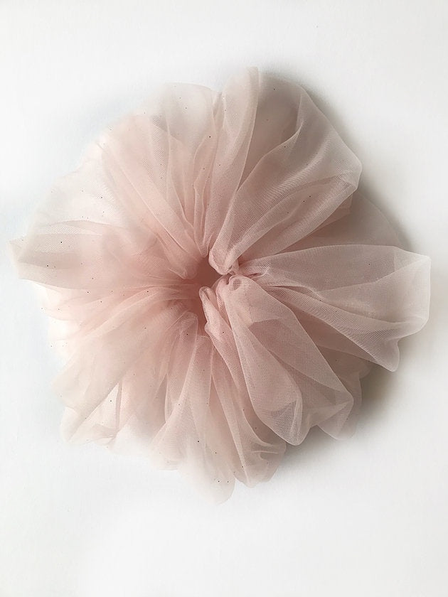Tulle Cloud Scrunchie - Pink