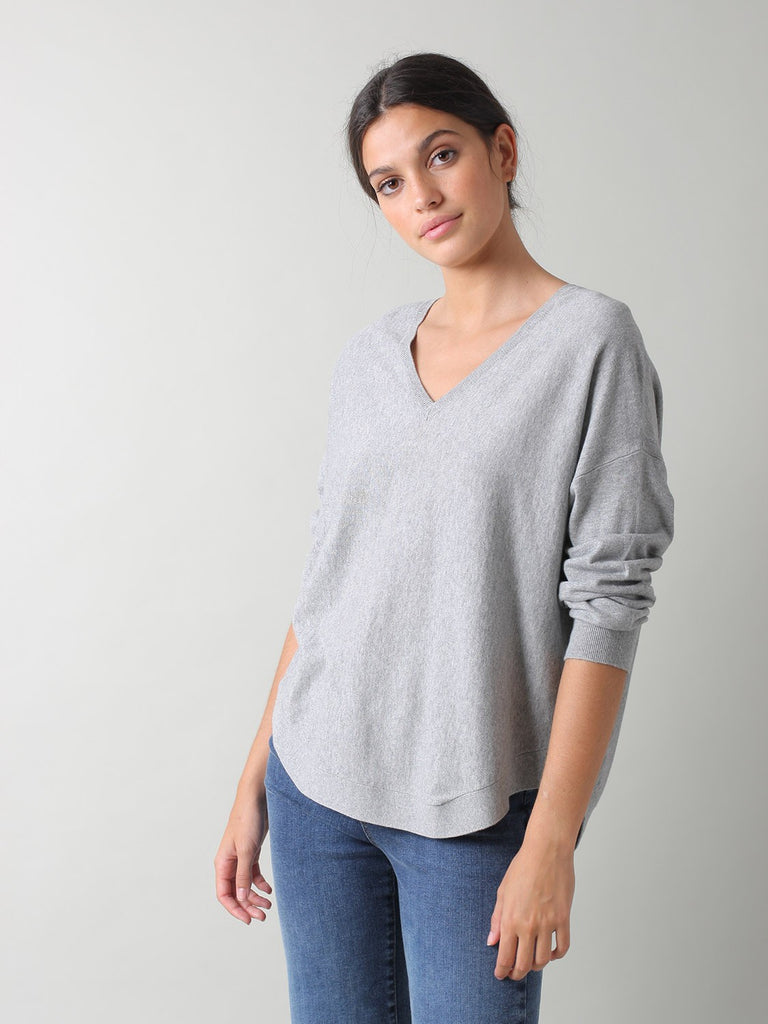Samara Pullover - Light Grey