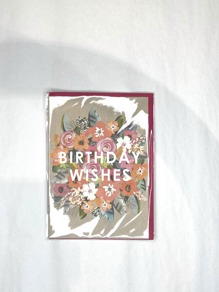 Card - Floral Wishes