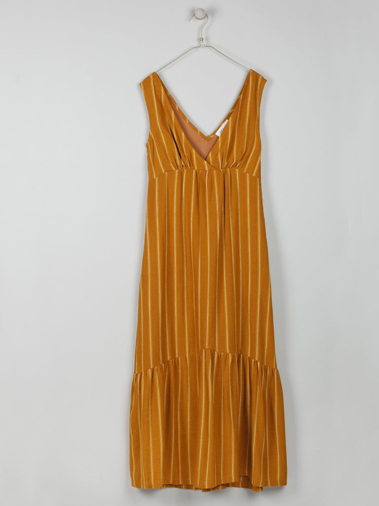 Primrose Dress- Amber Stripe