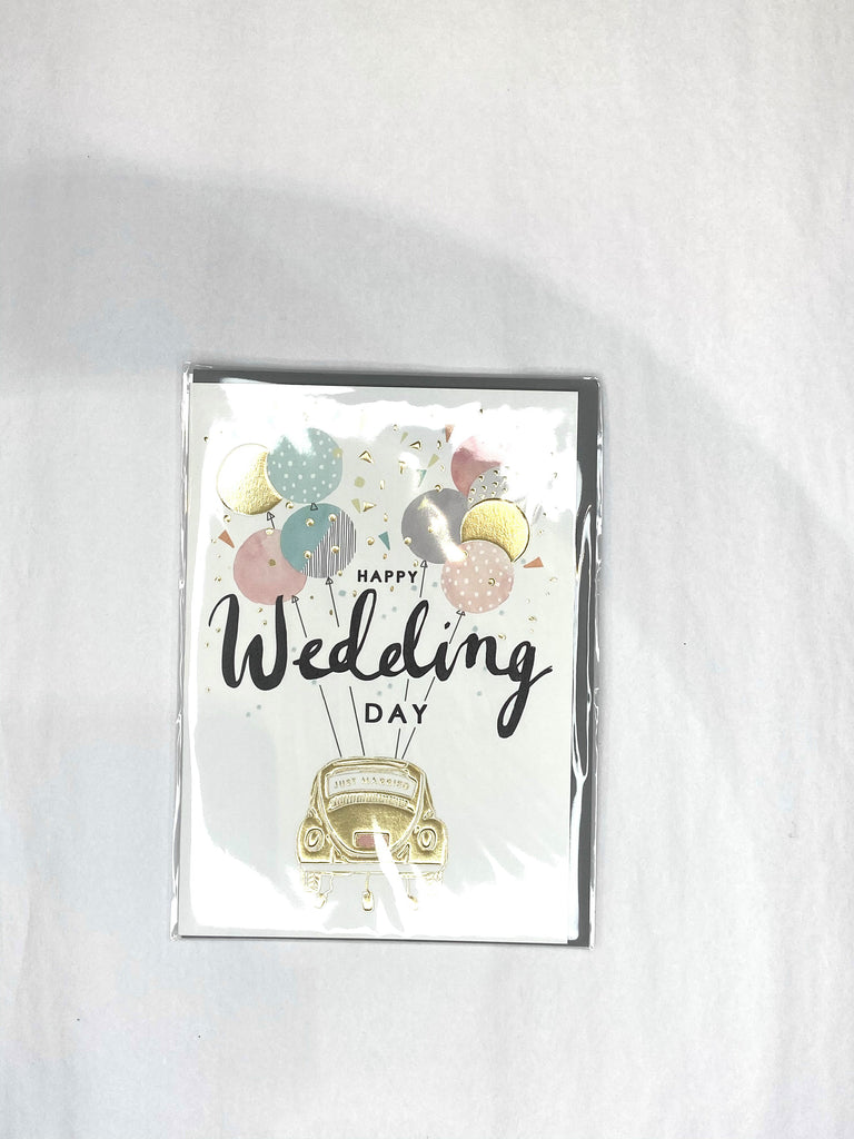 Card - Wedding Day Car