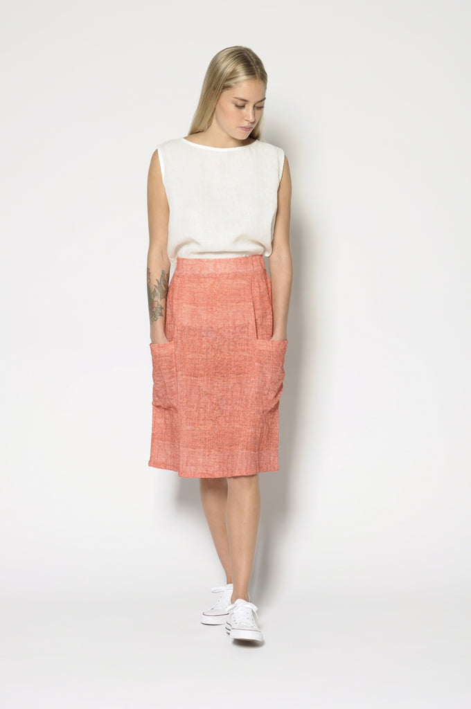 Zoey Skirt - Red
