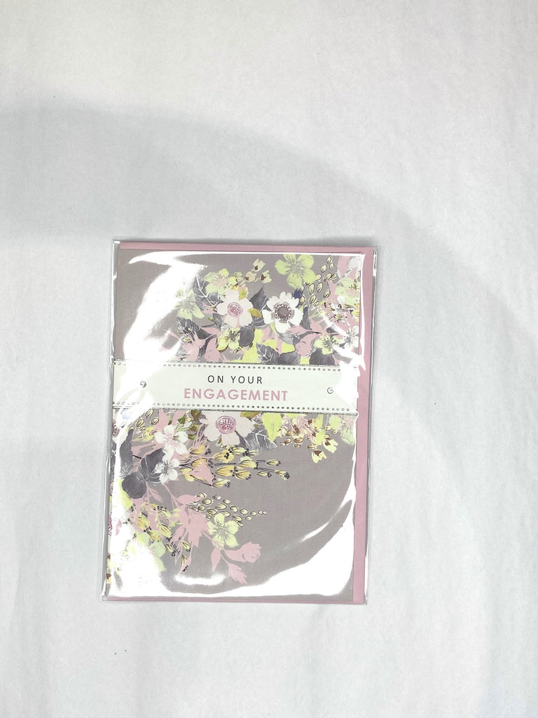 Card - Engagement Floral
